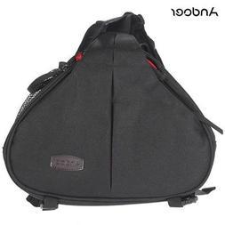 Andoer Mini Fashion Casual Case Shoulder Bag fr Canon Nikon