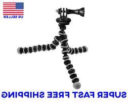 Mini Flexible Octopus Tripod Monopod Mount for GoPro Hero 5/