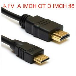 Mini HDMI C TO HDMI A Video Cable  for Nikon Coolpix camera