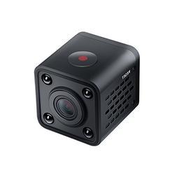 Mini IP camera,Decoer Ring 1080P HD Wifi Wireless with Night