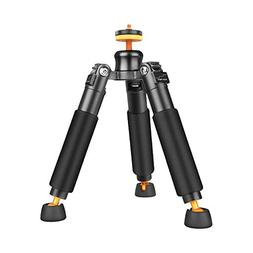 Harwerrel Mini Portable Aluminum Alloy Tripod Desktop Univer