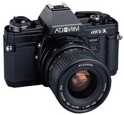 Minolta X-370S 35mm SLR Camera Kit w/ 35-70mm Lens