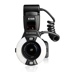 Meike MK-14EXT LED E-TTL Macro Ring Flash For Canon 5D II II