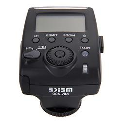 MeiKe MK-300 Mini LCD Screen E-TTL TTL On-camera Speedlite F