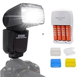 Meike MK-910 GN60 i-TTL 1/8000s HSS Flash Speedlight for Nik