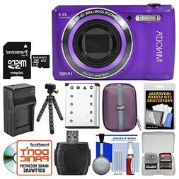 Minolta MN12Z OIS 12x Zoom Wi-Fi Digital Camera  with 32GB C