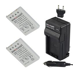 Newmowa EN-EL5 Replacement Battery  and Charger kit for Niko