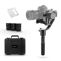 MOZA Air 3-Axis Handheld Gimbal Camera Stabilizer+Dual Handl