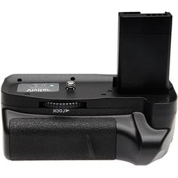Vivitar Multi-Power Battery Grip for Canon EOS Rebel T3 & T5