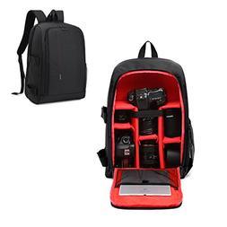 La Desire Multifunction DSLR SLR Camera Backpack Tablet Lapt