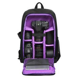 Multipurpose Waterproof DSLR Camera Shoulder Nylon Backpack