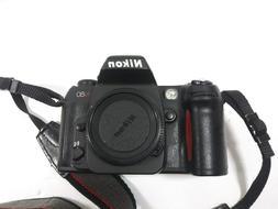 Nikon N80 F-80 in Europe 35mm film SLR camera tested WORKS b