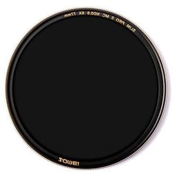 ZOMEi 77MM ND Neutral Density Filter ND8 for Canon Nikon DSL