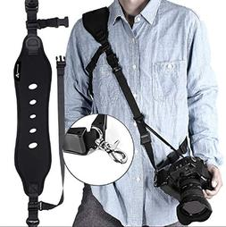 Camera Strap, Camera Shoulder Strap for Nikon, Neoprene Quic