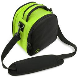 Laurel Compact Edition Lime Green Nylon DSLR Camera Carrying