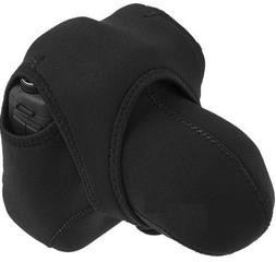 HDStars Neoprene Camera Case: Reversible  For Canon, Fuji, F