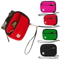 Small Compact Digital Camera Sleeve Case Cover For Canon Pow
