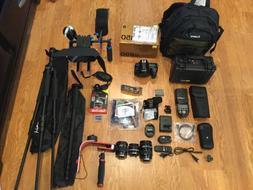 New Nikon D D850 47.7 MP Digital SLR Camera,w/3Lens/Flash,HU