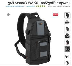 NEW Genuine Lowepro SlingShot 102 AW DSLR Camera Photo Sling