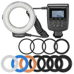 New Macro LED Ring Flash Light RF550D for Nikon Canon Olympu