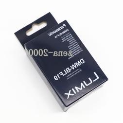 New Original Panasonic DMW-BLF19E DMW-BLF19 Battery for Lumi
