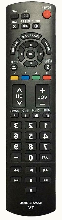 NEW USBRMT Replacement TV Remote N2QAYB000485 For Panasonic
