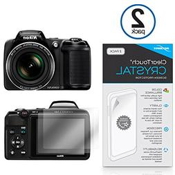 Nikon Coolpix L340 Screen Protector, BoxWave ] Anti-Fingerpr