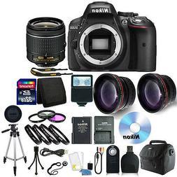 Nikon D5300 Digital SLR Camera with 18-55mm + 32GB + Top Acc