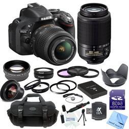 Nikon D5200 Digital SLR Camera With 18-55mm f/3.5-5.6G VR Le