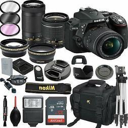 Nikon D5300 DSLR Camera with 18-55mm VR & 70-300mm VR Lenses