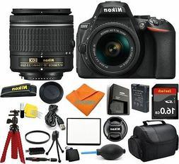 Nikon D5600 Camera Bundle + 18-55mm + 16GB SD Memory + Flexi