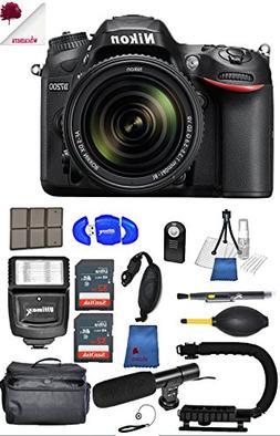 Nikon D7200 24.2 MP DX Format DSLR Camera w/ DX NIKKOR 18-14