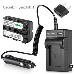 Kastar NP-FM500H Battery  and Charger Kit for Sony DSLR-A100