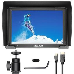 Neewer NW-T7 7-inch Camera Field Monitor 1080P Supports 4K H