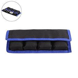 Meking DSLR Battery Case Holder Storage Bag  for AA/AAA Batt