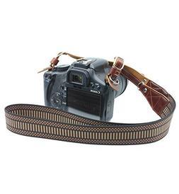 CEARI Premium Nylon Braided Camera Shoulder Neck Strap Belt
