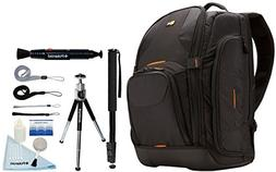Case Logic Nylon SLR Camera and 15.4-Inch Laptop Backpack an