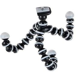 Octopus Camera Tripod, Walway Flexible Cell Phone Holder Sta