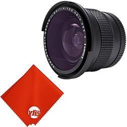 Opteka 0.35X Professional Super Wide Angle Fisheye Lens w/ M