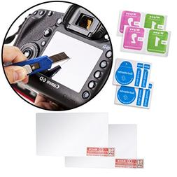 Movo  Optical Glass LCD Screen Protectors for Canon EOS 6D D