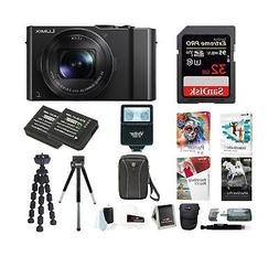 Panasonic LUMIX 4K Digital Camera with Digital Slave Flash &