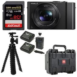 Panasonic LUMIX DMC-LX10K Camera 128GB Extreme PRO Weatherpr