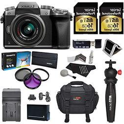 Panasonic LUMIX DMC-G7KS DSLM 4K Camera , 14-42 mm Lens Kit,