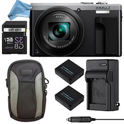 Panasonic LUMIX ZS60 4K Digital Camera ULTIMATE PRO BUNDLE