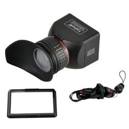 GGS Perfect Foldable LCD Viewfinder 3X Magnification for Can