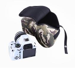 Movo Photo CB70 Neoprene Soft Pouch Camera Case for DSLR Cam