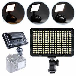 New Photo Studio LED Dimmable Video Light 3200k-5500k for Ca