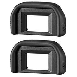 AFUNTA 2 Pack Photo Eyepiece/ Viewfinder Eyecup for CANON Re