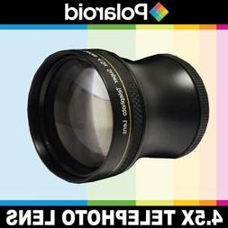 Polaroid Studio Series 4.5x Super Telephoto Lens, Includes L
