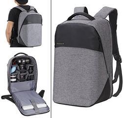 Finnkare New Polyester Outdoor Large DSLR SLR Backpack Padde